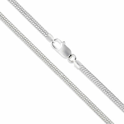 Sterling Silver Magic Round Snake Chain 3mm 925 Brazilian New Necklace