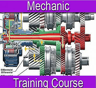 Mechanic Vehicle Car Repair Training Course Manual Book on CD PDF Format