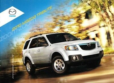 2010 10 Mazda Tribute Original sales brochure MINT