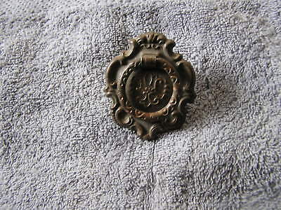 Antique Ornate Metal Drawer Pull Hardware Handle