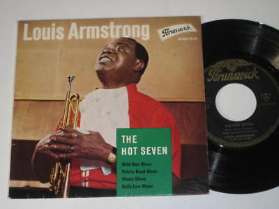"7""/LOUIS ARMSTRONG/THE HOT SEVEN/Brunswick 10193 EP"