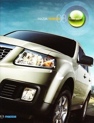 2008 08 Mazda Tribute original sales brochure MINT