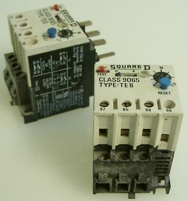 Square D 9065 TE8 Thermal Overload Relay 8-11.5A  SWeeT