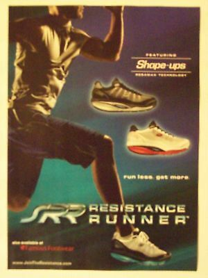 2011 Skechers Shape-Ups Resistance Runner Shoe Magazine Print Advertisement Page