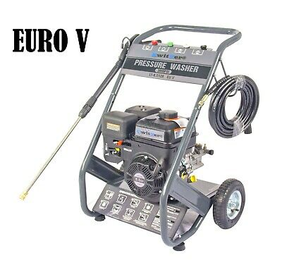 FoxHunter Petrol Power Pressure Jet Washer 3000PSI 6.5HP Engine With Gun Hose
