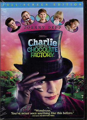 """charlie And The Chocolate Factory"".......""new Full-Screen"".......new Sealed Dvd"
