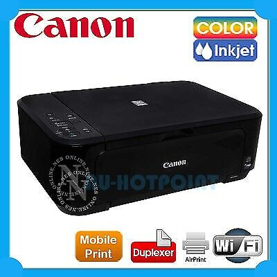Canon MG3660-BK Wireless Color MFP Printer+Duplex+AirPrint+PG640/CL641 Ink Set