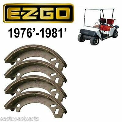 EZGO Marathon Golf Cart 1976'-1981' Rear Brake Shoes (set  4) 27290-G01