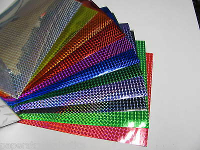 Prism Sign Vinyl SAMPLE PACK 3 x 4 inch  sheets,  Free S&H for USA
