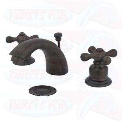 Oil Rubbed Bronze Bathroom Sink Faucet  New KB955AX