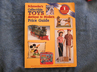 Schroeder's Collectible Toys Price Guide 1997 Antique