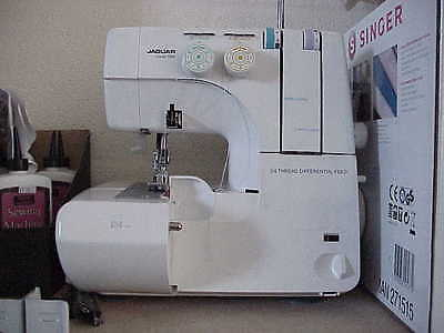 Jaguar Twin Needle 4 Thread Table Top Overlocker,Differential & Simple To Thread