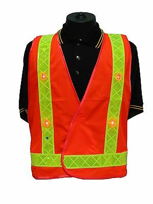 Safety vest / flashing LED lights various colour combos