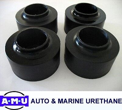 AUSTRALIAN MADE POLYURETHANE COIL SPRING SPACERS Fits JEEP WRANGLER TJ x 50mm