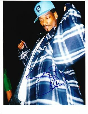 Gfa The Chronic Rapper Snoop Dogg Signed 8x10 Photo S1 Coa