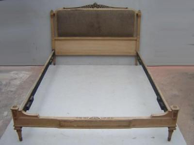 Nice French Louis XVI patinated full bed # as/1091