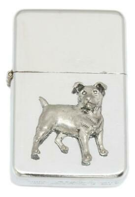 Jack Russell Petrol Lighter FREE ENGRAVING  Gift Boxed