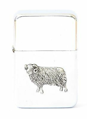 Sheep Ram Design Petrol Lighter FREE ENGRAVING  Gift
