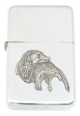 Spaniel Petrol Lighter FREE ENGRAVING Shooting Gift