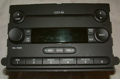 Ford Factory OEM CD-6 CD6 In dash AM/FM/CD Used Works