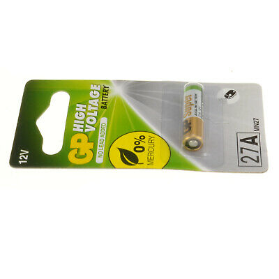 GP High Voltage Battery 27A MN27 12V 1 Pack