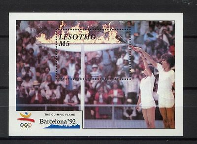 Lesotho 1990 SG#MS988 Olympic Games MNH M/S