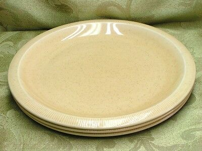 Sea Sculptures Sand by Franciscan LOT 3 DINNER PLATES