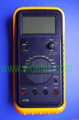 H705 Calibrator DMM fit FLUKE F705 DC mV signal source