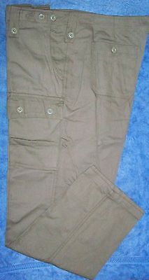 Aussie Army Olive Drab Green Pants  Vietnam War - Reproduction New Made