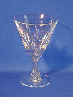 Tiffin Crystal Fairlawn Water Goblet 6 1/4""