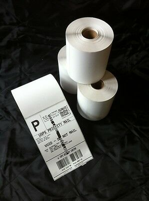 20 Rolls 250 4x6 Direct Thermal Labels Premium Zebra Eltron 2844 Compatible