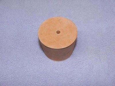 21mm 1-Hole Red Rubber Stopper Bung Laboratory Sci NEW