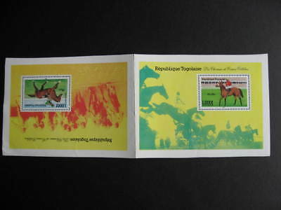 TOGO 1306-7 MNH tete beche SS from printers archives!