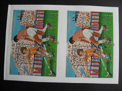 TOGO C500 MNH unsevered pair SS from printers archives!