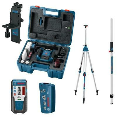 Bosch Rotationslaser GRL 300 HV +LR1+RC1+WM4+BT300HD+GR