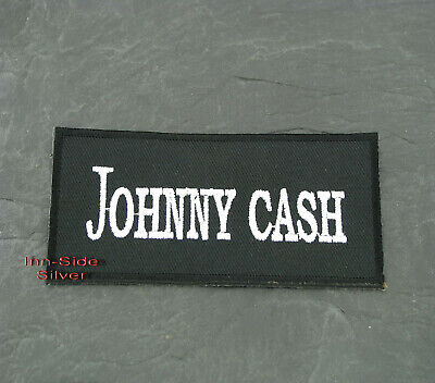Patches Aufbügler Aufnäher Johnny Cash