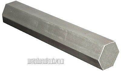 """Stainless steel Hex bar 303 1/4"""" AF x 3 mtr new"""