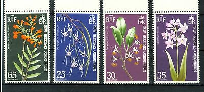 ORCHIDEE - ORCHIDS NEW HEBRIDES 1973 English Issue
