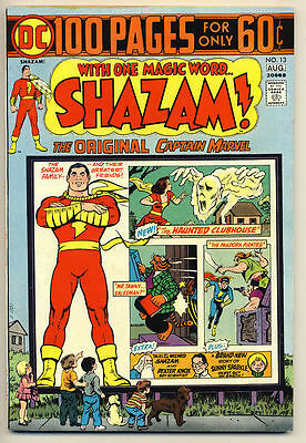 SHAZAM #13 VF 100 pg Captain Marvel DC Comics 1974
