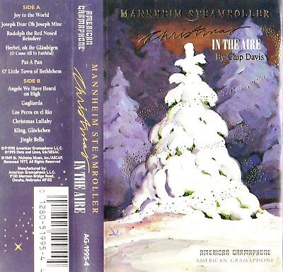 CHRISTMAS IN THE AIRE Mannheim Steamroller '95 Gramaphone Cassette ...