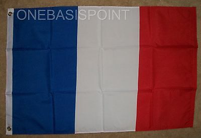 2'x3' France Flag Outdoor Banner Pennant French Tricolor Cockade Revolution 2X3