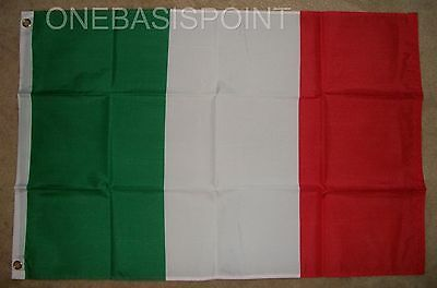 2'x3' Italy Flag Outdoor Banner Pennant Italian Italia Tricolore Soccer New 2X3