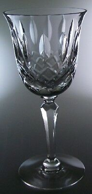 """Tiffin Franciscan Crystal Elyse Wine Goblets 6"""" - Perfect!"""