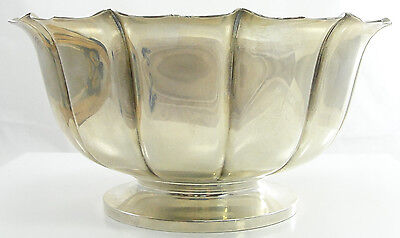 Spaulding & Co. Sterling Silver Footed Bowl Dublin Pattern 1720 reproduction