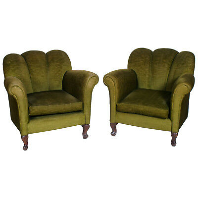Art Deco' Antique Pair Armchairs Françaises Coppia Poltrone Anni 20 - Ma G37
