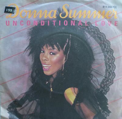 "7"" 1983 ! DONNA SUMMER : Unconditional Love  / MINT-"