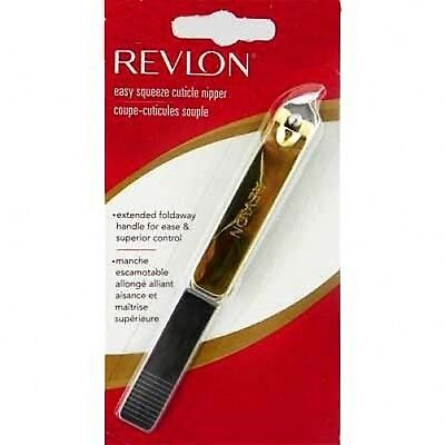 Revlon Easy Cuticle Nail Nipper Cutter Manicure 53958
