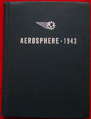 Aerosphere 1943 Signed To Adm D.c. Ramsey Wwii Aviation