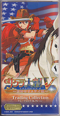 Sakura Wars 5 Episode 0 Trading Card Collection Box