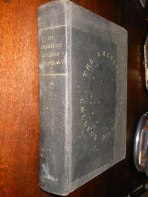 The American College Dictionary 1951 L2 ^